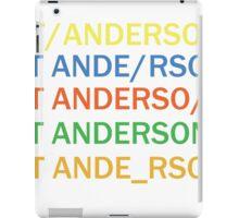 Paul Thomas Anderson iPad Case/Skin