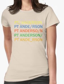 Paul Thomas Anderson Womens Fitted T-Shirt