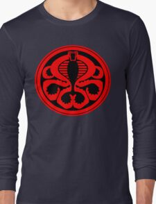 Hail Cobra! Long Sleeve T-Shirt