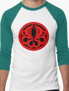 Hail Cobra! Men's Baseball ¾ T-Shirt