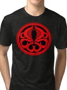Hail Cobra! Tri-blend T-Shirt