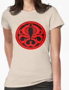 Hail Cobra! Womens Fitted T-Shirt