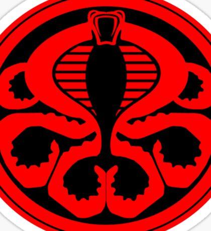Hail Cobra! Sticker