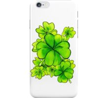 Cloves St Patricks day iPhone Case/Skin