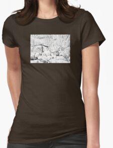 Rainforest Womens Fitted T-Shirt