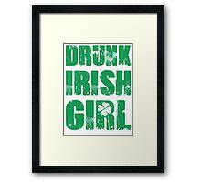 Drunk Irish Girl Framed Print
