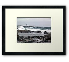 The Light and the Storm Framed Print