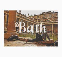 Bath II Typography Print T-Shirt
