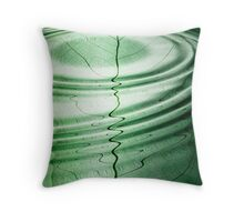 Green dimensions Throw Pillow