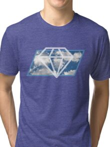Sky Diamond Tri-blend T-Shirt