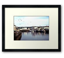 Quiet day in Fortune Framed Print