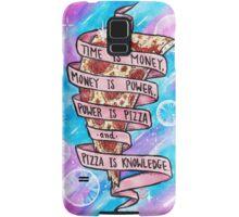 Pizza is Knowledge Samsung Galaxy Case/Skin