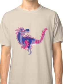 Bisexual Pride Dinosaur Classic T-Shirt