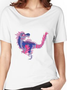 Bisexual Pride Dinosaur Women's Relaxed Fit T-Shirt