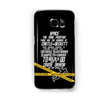 Castle The Final Frontier- v2b Samsung Galaxy Case/Skin