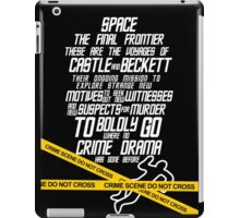 Castle The Final Frontier- v2b iPad Case/Skin