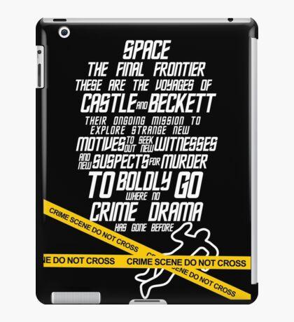 Castle The Final Frontier- v2b iPad Case/Skin