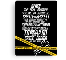 Castle The Final Frontier- v2b Canvas Print