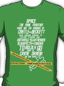 Castle The Final Frontier- v2b T-Shirt