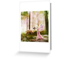 The Princess and the Reindeer Greeting Card