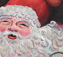 Jolly Santa by Nadine Rippelmeyer