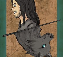 Sirius Black Playing Card by imaginativeink