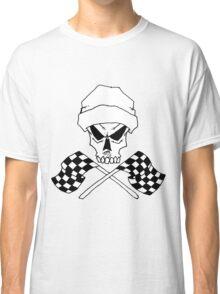 skull finish flags Classic T-Shirt