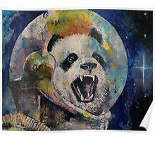 Space Panda Poster
