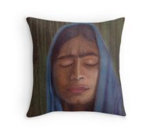 Serenity and peace Throw Pillow