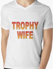 Trophy Wife Mens V-Neck T-Shirt