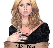 Buffy Summers by Matt  Simas