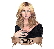 Buffy Summers Photographic Print