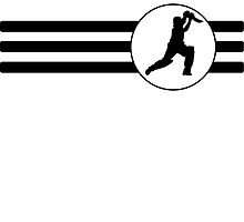 Cricket Player Stripes by kwg2200