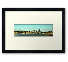 OKC Skyline Framed Print