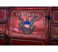 U.S Mail Photographic Print