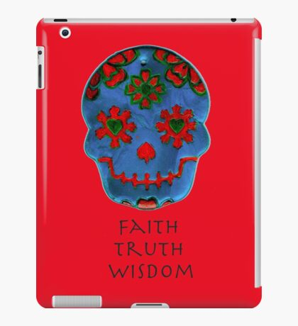Faith, Truth, Wisdom iPad Case/Skin