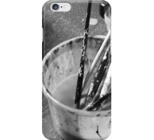 Brushes in water iPhone Case/Skin