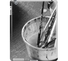 Brushes in water iPad Case/Skin