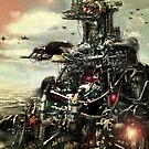 Robotic City by Matt Bissett-Johnson