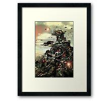 Robotic City Framed Print