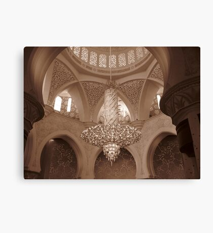 Sheikh Zayed Grand Mosque 2 Canvas Print