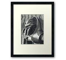 Introspection of a Cylon Framed Print