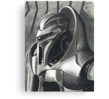 Introspection of a Cylon Canvas Print