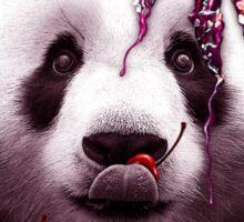 PANDA LOVES ICE CREAM Sticker