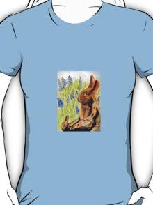 Terra Cotta Bunny Family T-Shirt