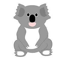 Cute Koala Bear Design by biglnet