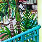 Balcony View - Shingley Beach by marlene veronique holdsworth