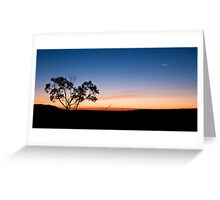 As Night Follows Day Greeting Card