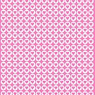 Pink Hearts by Denise Abé