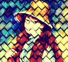 GIRL IN HAT AFTER RENOIR by Terry Collett